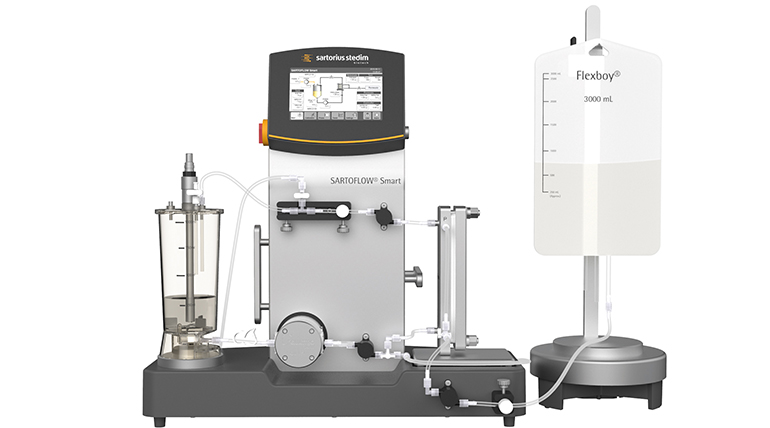Sistema de filtración de flujo tangencial