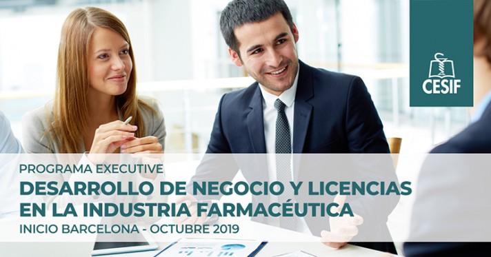 Programa executive en Desarrollo de Negocio y Licencias en la industria farmacéutica