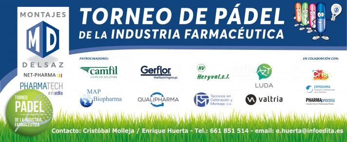Madrid 2018: TORNEO DE PADEL de la INDUSTRIA FARMACÉUTICA