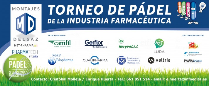 Barcelona 2018: TORNEO DE PADEL de la INDUSTRIA FARMACÉUTICA