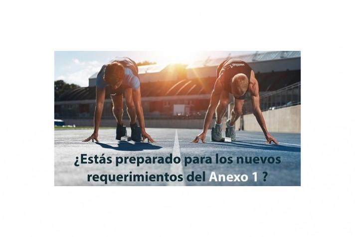 Nuevos retos del Anexo 1