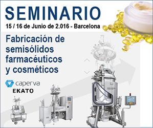 SEMINARIO: Fabricación de semisólidos farmacéuticos y cosméticos