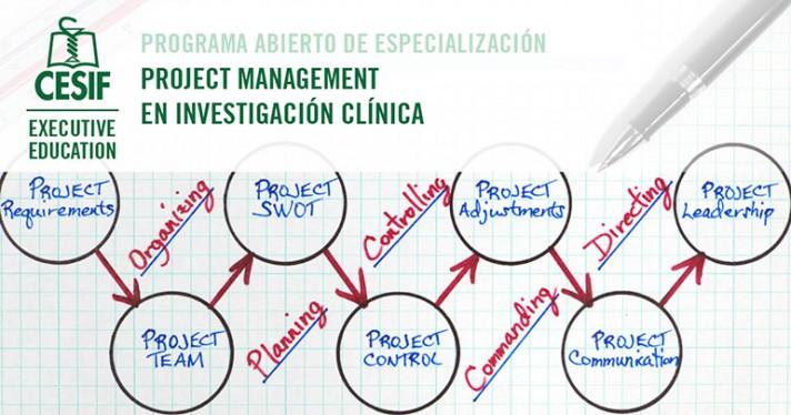 VI edición del programa Project Management en Investigación clínica