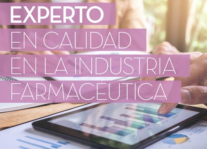 Experto en Calidad en la Industria Farmacéutica