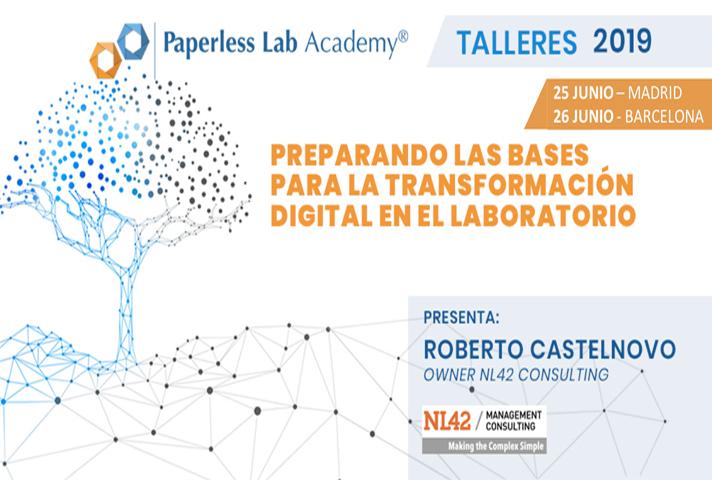 Taller de transformación digital de los procesos de laboratorio