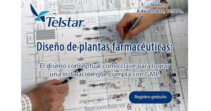 Webinar sobre diseño de plantas farmacéuticas