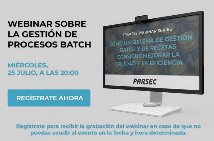 Webinar sobre la gestión de procesos Batch