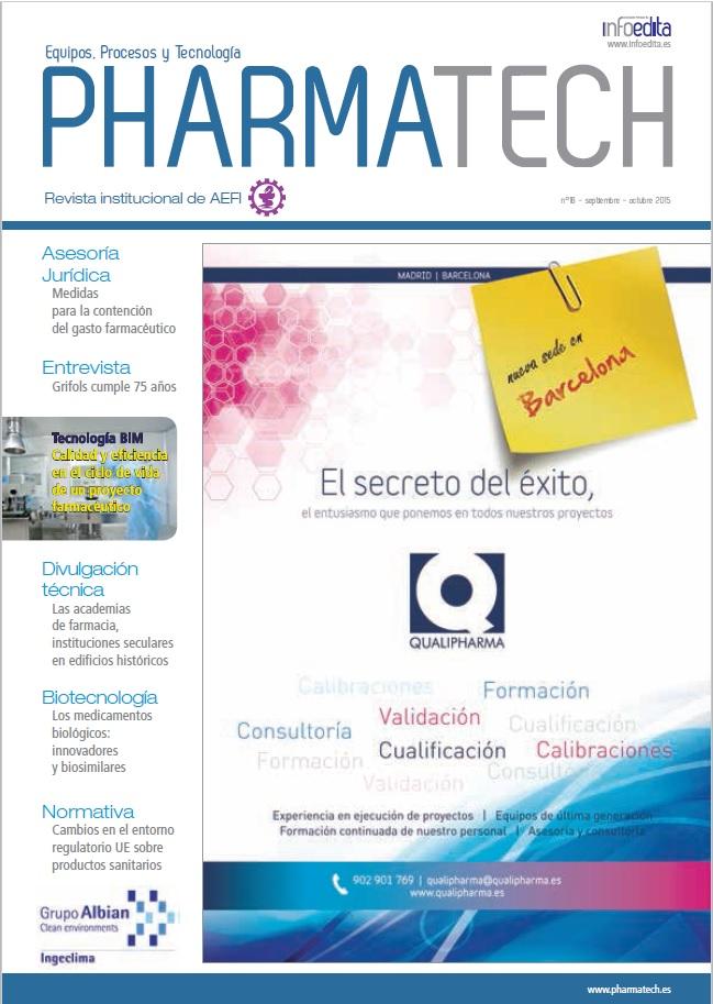 Pharmatech Septiembre/Octubre 2015