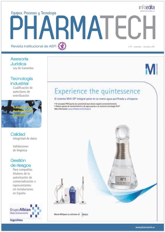 Pharmatech Noviembre/Diciembre 2015