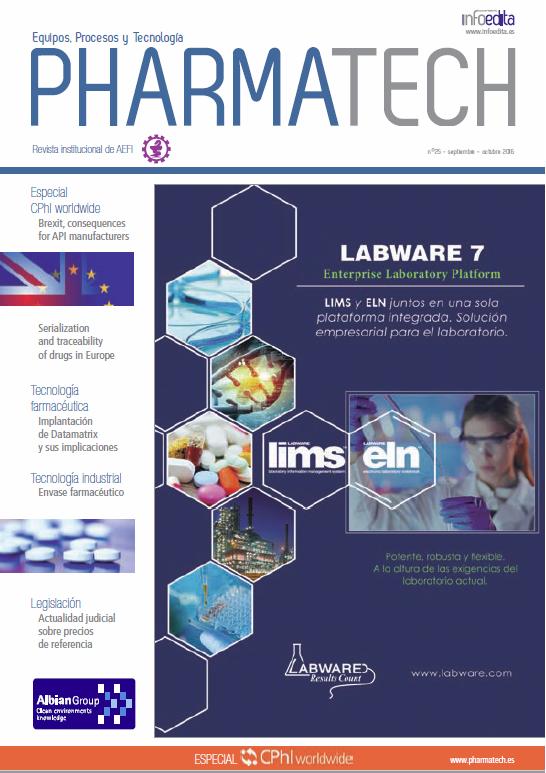 Pharmatech septiembre-octubre 2016
