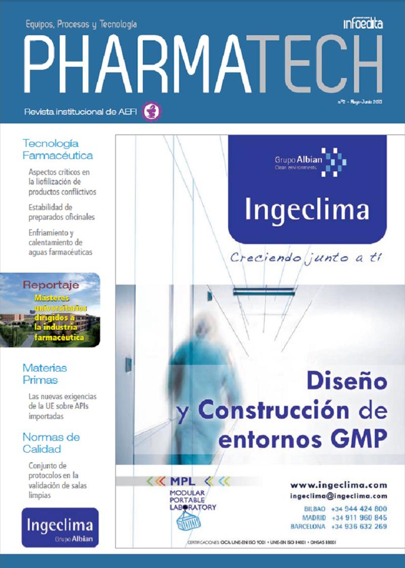Pharmatech Mayo/Junio 2013