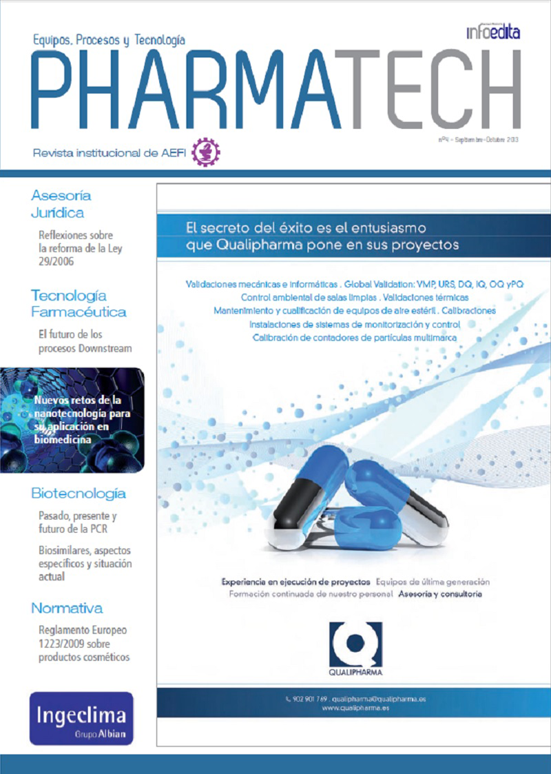 Pharmatech Septiembre/Octubre 2013