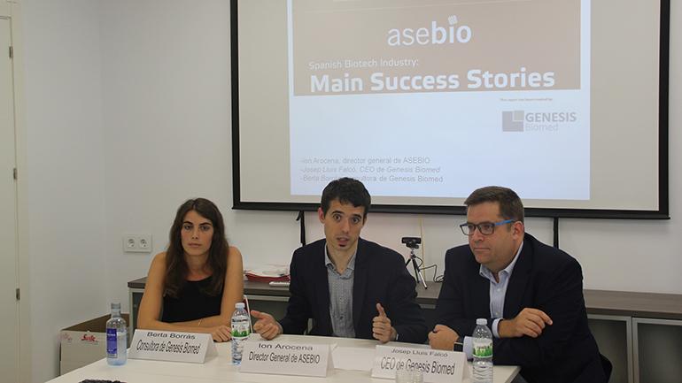 ASEBIO presenta un informe con 20 casos de éxito de biotecnología española