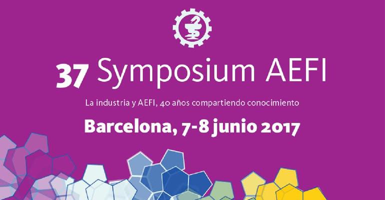 El día 7 de junio comienza el 37 Symposium de AEFI