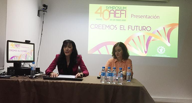 Creemos el futuro, lema de la edición 40 del Symposium de AEFI