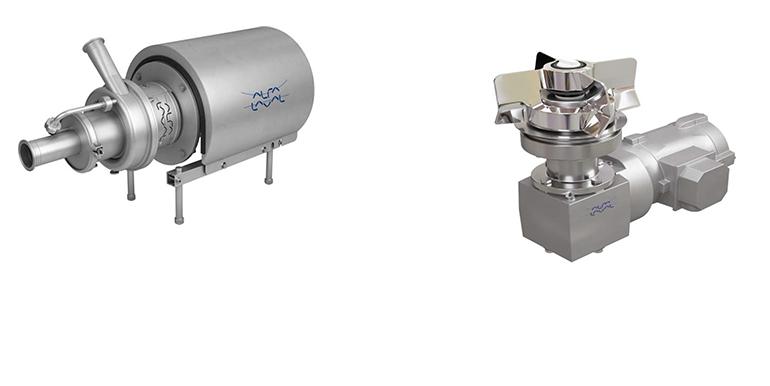 Bomba autocebante y mezclador magnético