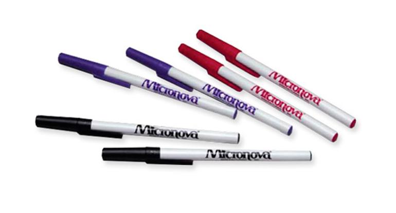 Rotuladores y bolígrafos para sala limpia
