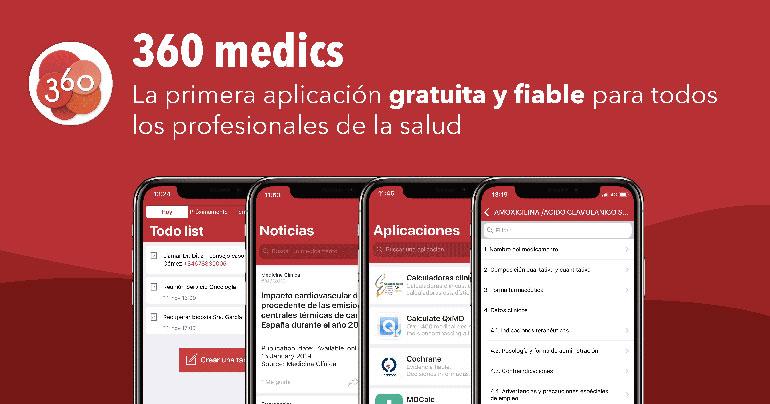 App gratuita dirigida a todos los profesionales del sector sanitario