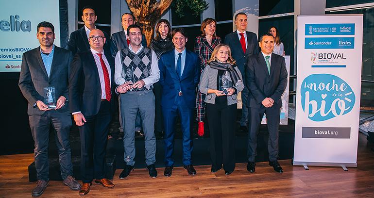 Bioval entregó sus premios en la Noche de la Bio