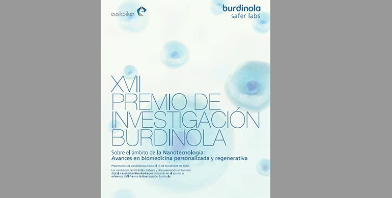 Burdinola lanza el XVII Premio de Investigación Burdinola