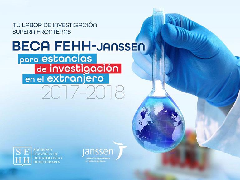 Beca FEHH-Janssen para investigación en el extranjero