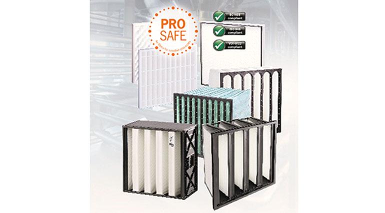 Gama de filtros y purificadores de aire