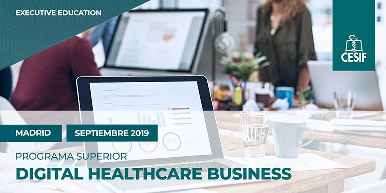 Nueva convocatoria CESIF de su programa superior en Digital Healthcare Business