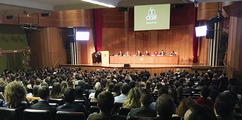 CESIF celebra el acto de apertura del curso académico 2017-18 y la entrega de diplomas de la promoción 2016-17 en Madrid y Barcelona