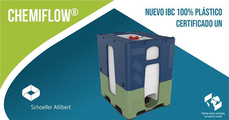IBC 100 % plástico