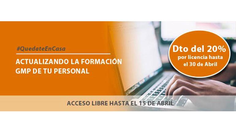 Acceso libre al Campus online de CPM Formación GMP