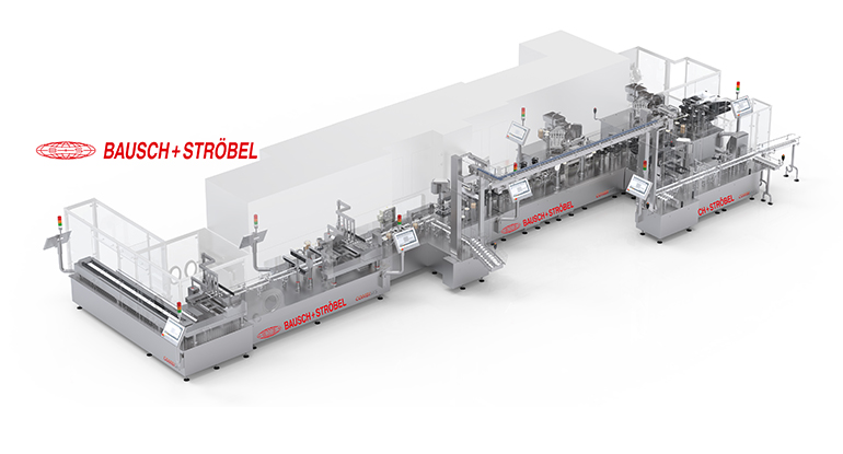 Máquina modular para 12.000 envases a la hora