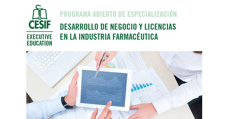 Desarrollo de Negocio y Licencias en la Industria Farmacéutica