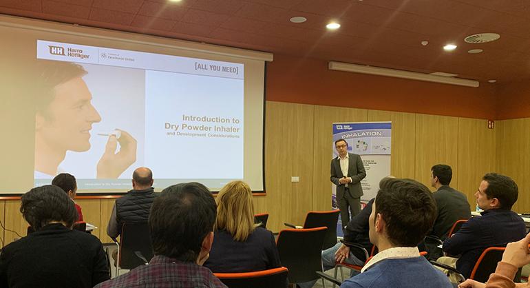 Farma Alimenta organizó el primer seminario de granulación e inhalación