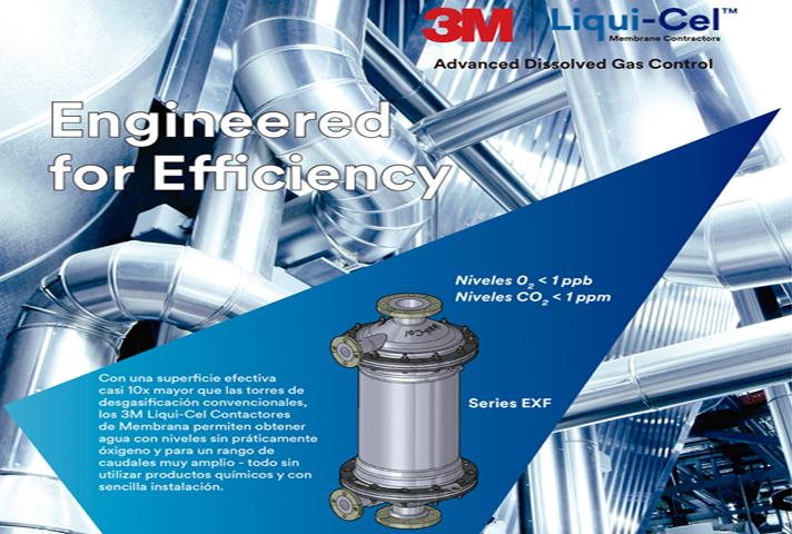 3M™ Liqui-Cel™: la tecnología efectiva de eliminación de gases