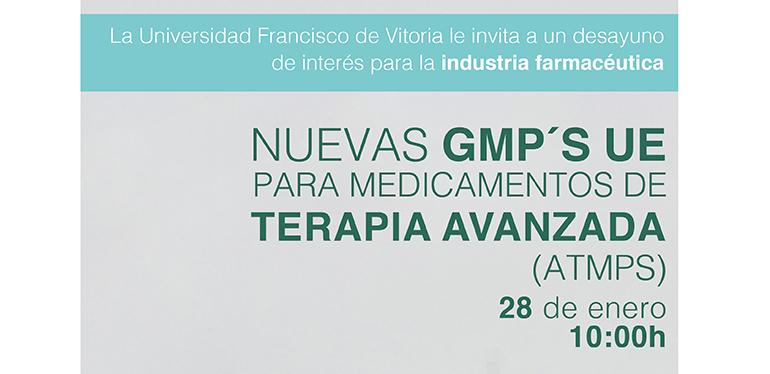 Desayuno informativo para la industria farmacéutica en la Francisco de Vitoria