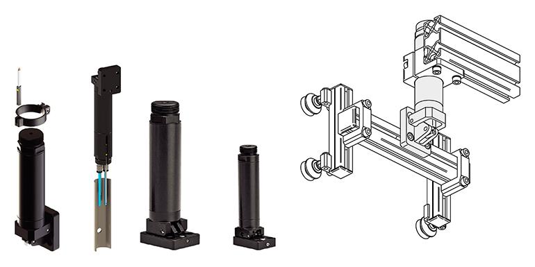 Mini-volteadores neumáticos concebidos para EOAT's pequeños