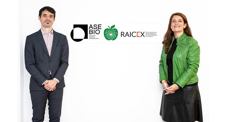 AseBio y RAICEX firman alianza para el desarrollo científico
