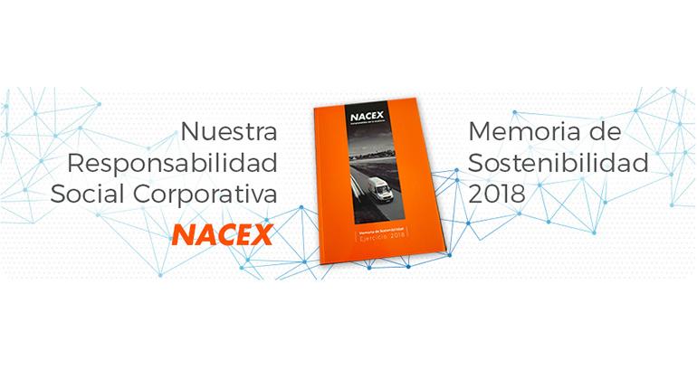 Nacex presenta su primera Memoria de Responsabilidad Social Corporativa