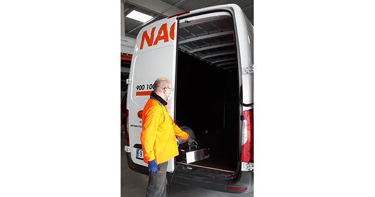 Nacex adquiere cañones de ozono para desinfectar de forma eficaz sus vehículos