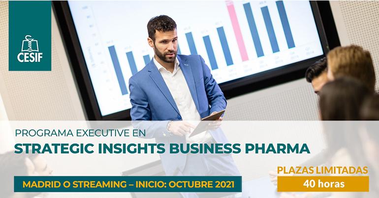 Nueva edición del programa abierto CESIF de especialización en strategic insights business pharma