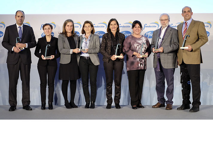La Fundación Pfizer hizo entrega de sus premios anuales