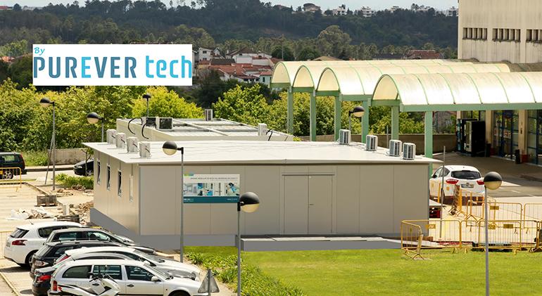 Purever dona un centro de detección a un hospital de Viseu, en Portugal