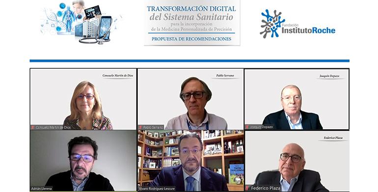La trasformación digital del sistema sanitario analizada en un informe de la Fundación Instituto Roche