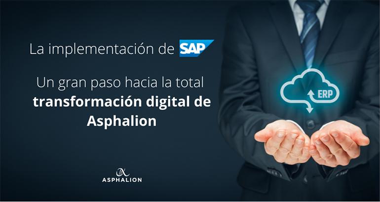 La consultora Asphalion implementa su transformación digital con las soluciones de SAP