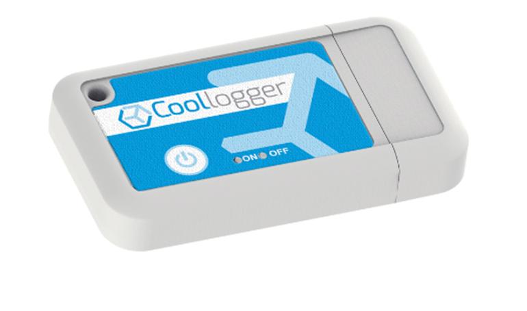 Dispositivo para controlar la cadena de frío en el almacenaje y transporte