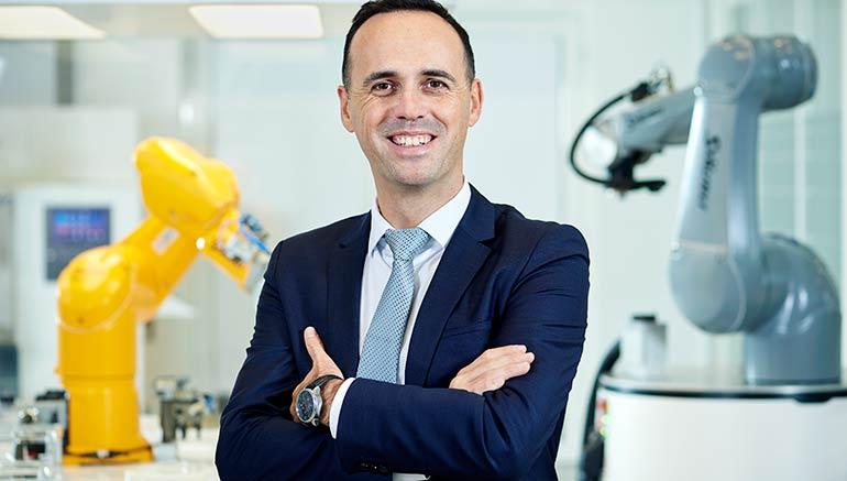 Christophe Coulongeat, nombrado director de la división Robótica de Stäubli