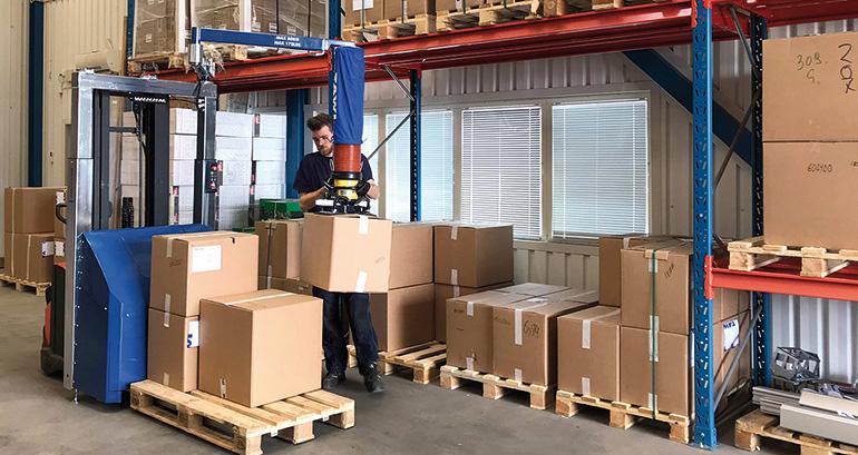 La solución para las tareas de picking en la logística