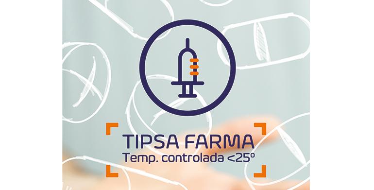 El sector farma, apuesta estratégica de Tipsa