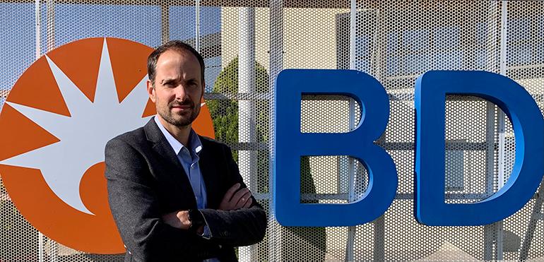 Thibault Naegelen dirigirá la futura planta de Zaragoza de Becton Dickinson