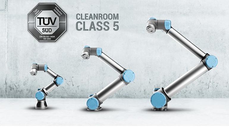Universal Robots recibe la certificación TÜV para aplicaciones en entornos de salas limpias